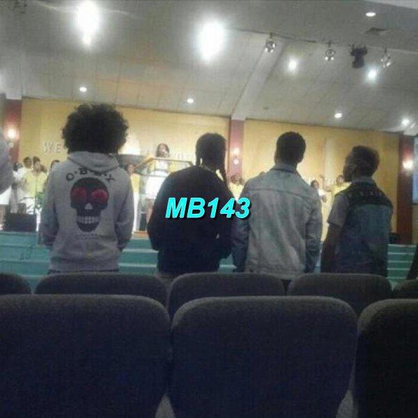Le Mindlesss Behavior étaient dans une Eglise dimanche dernière,deux photos de leur dernière concert +Quelques Photos Perso de MB.