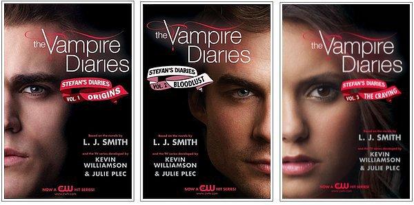 Les livres de la série!!!!