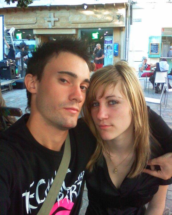 Ma femme et moiii dans Arles