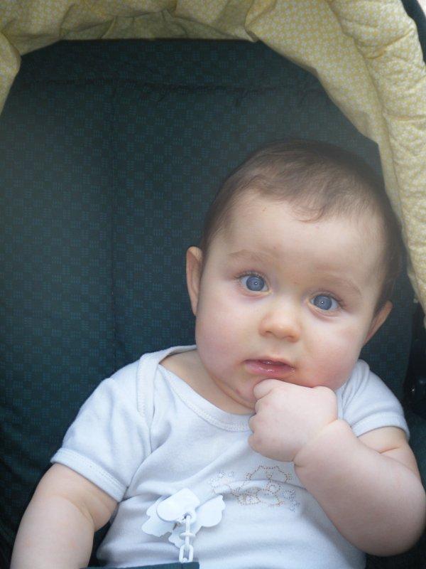 Mon bébé à 8 mois