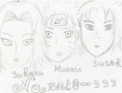 naruto  sakura sasuke :