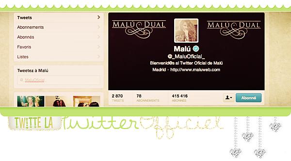 Twitter officiel !!