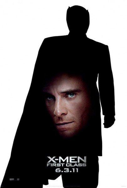 X-MEN FIRST CLASS Michael Fassbender as Erik alias Magneto