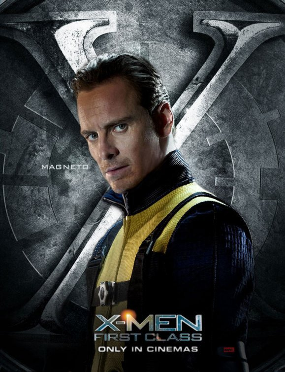 X-MEN FIRST CLASS Michael Fassbender as Erik alias Magneto
