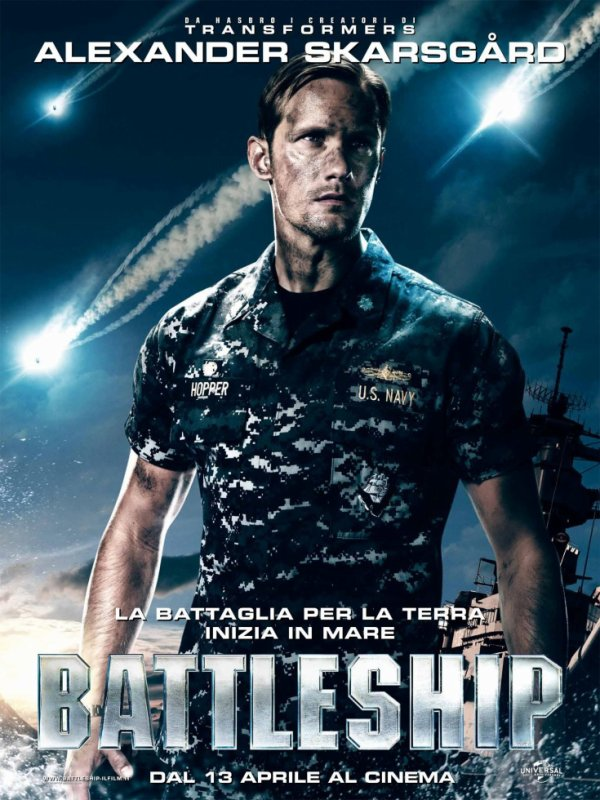 BATTLESHIP Alexander Skarsgard as Stone Hopper <3