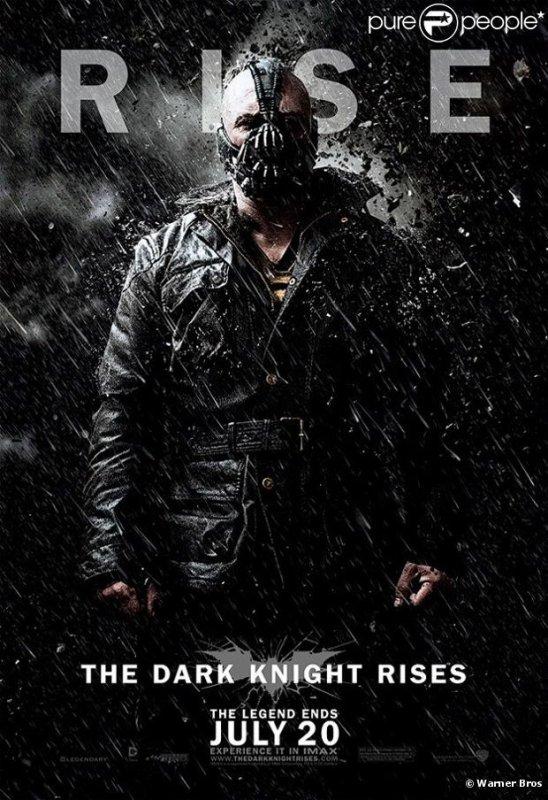 Dark Knight Rises Tom Hardy as BANE