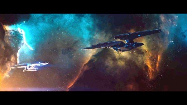 STAR TREK Into Darkness the Vengeance vs Enterprise