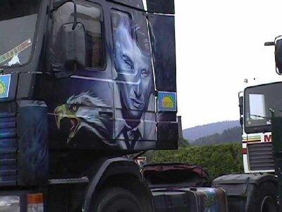 Le Boss sur la route