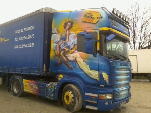 Merveilleux Jean Rouillon sur le parking d'un Routier près de Bourg en Bresse !!!