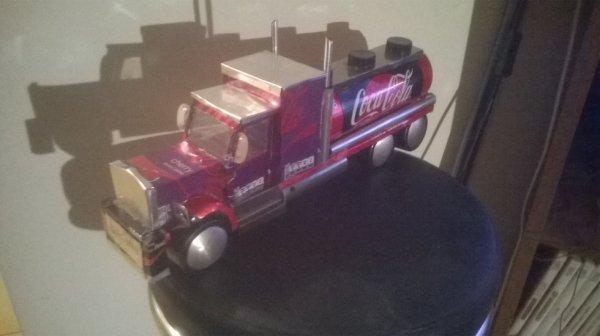 Le camion Coca
