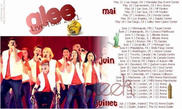 Glee Live Tour 2o11.