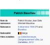 la bibliographie de patrick bauchau ( syndnye )