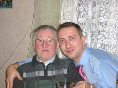 mon grand père et mon frengin