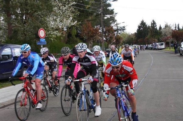 Hensies 21 avril 2012: Peloton