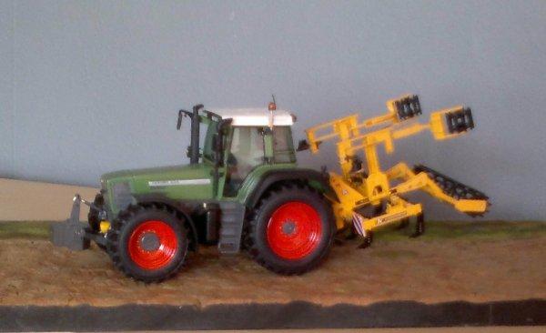 fendt favorit 824 + agrisem agromulch 4 m.