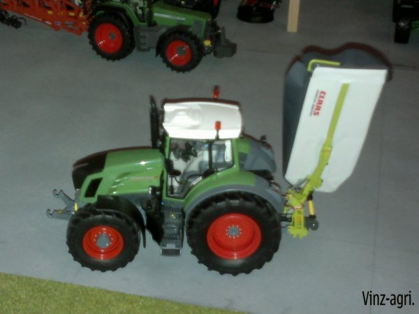 fendt 828 + claas disco 3500.