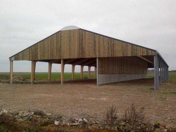 Hangar agricole.