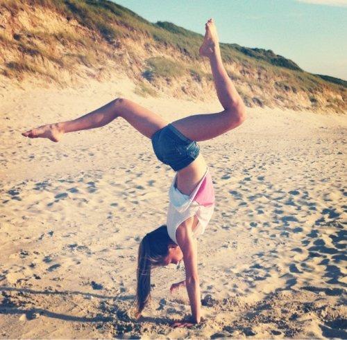 Thème 17 : la gymnastique à la plage ♥