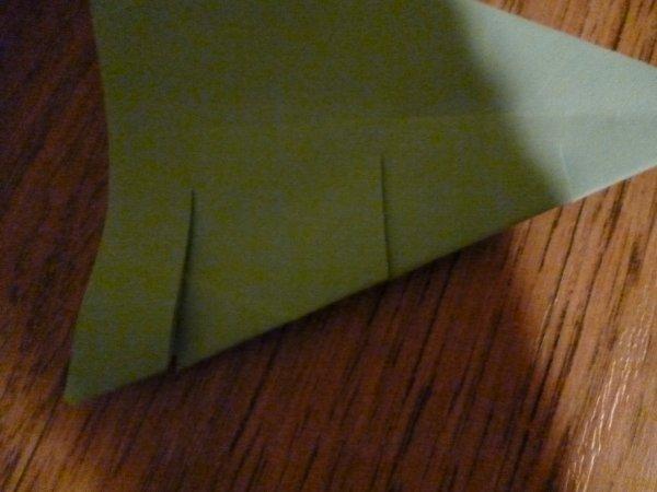 origami noël