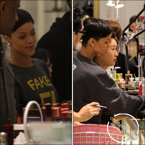 » 14 Déc | Rihanna fait du shopping à Beverly Hills à Los Angeles