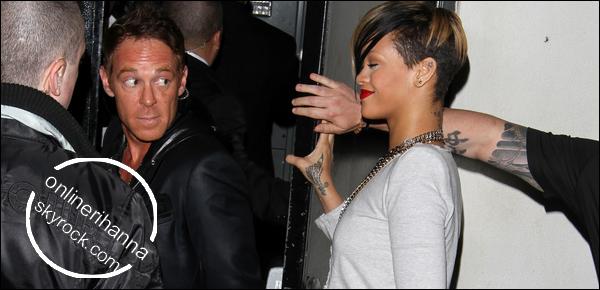 » 18 Mars | Rihanna au club Playhouse à Hollywood