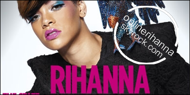 » Avril | Rihanna pose pour NME