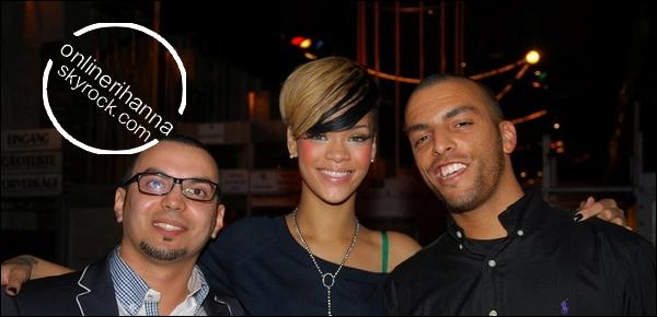 » 25 Avril | Rihanna au club « Steffy »