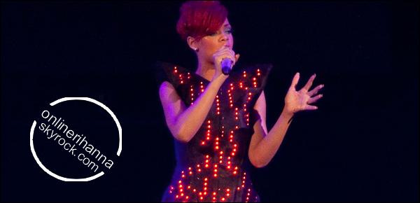 » 06 Jui | Rihanna en concert à Calgary, Canada
