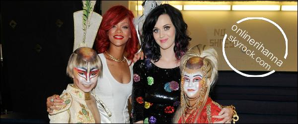 » 18 Sep | Rihanna et Katy Perry à Las Vegas