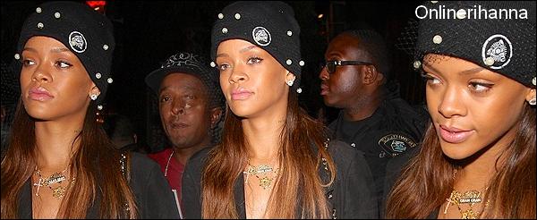 » 11 Jan | Rihanna au club Premier à L.A.