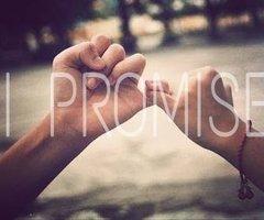 Tiens tes promesses. Ou n'en fais pas.
