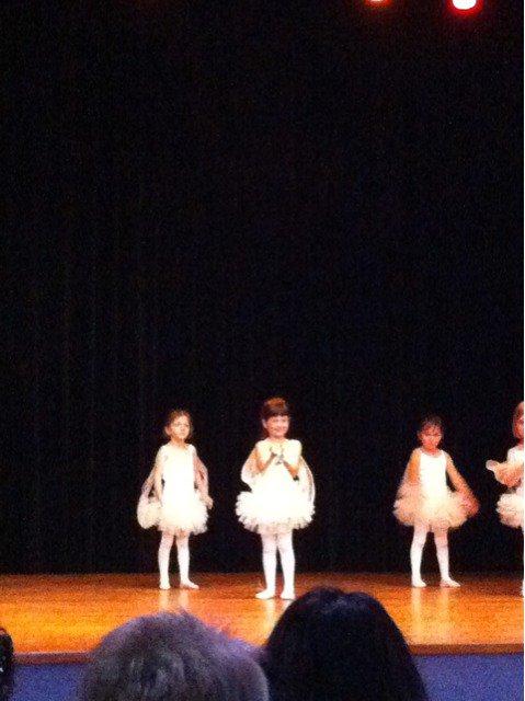1er spectacle de danse