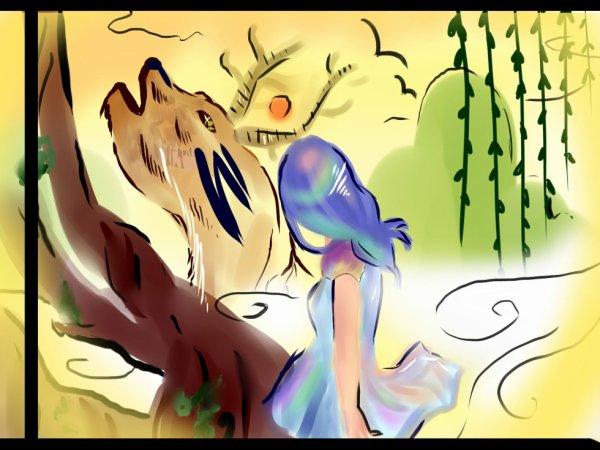 Je reviens vous présenter quelques dessins. Désolée si je ne suis pas très actives en ce moment ♥ pardon, gomen.