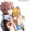 Natsu Dragnir and Lucy Heartfilia