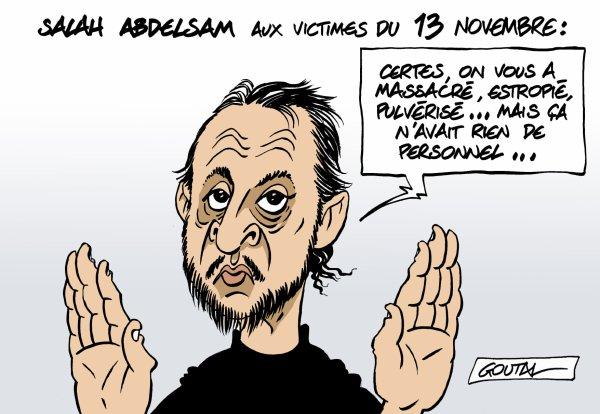 """Spécial """"Salah Abdelsam aux victimes du 13 novembre Abdelsam, aux 13 .."""" - Image n° 2/2 !..."""