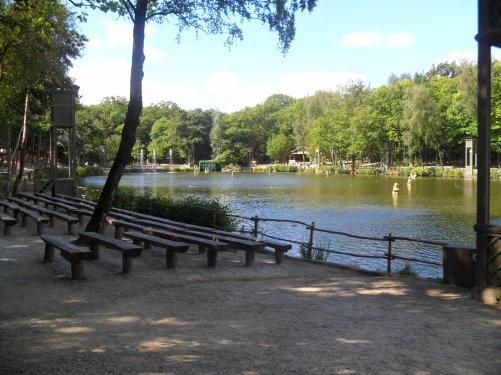 différente photo du grand parc