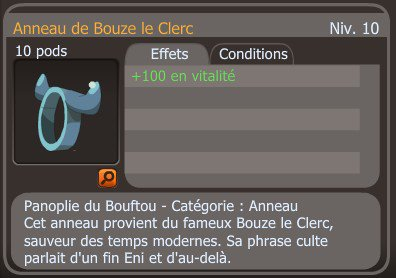 FM Anneau de Bouze +100 vita