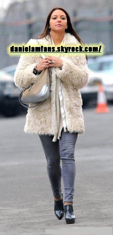 Daniela à Old Trafford le 22.01.11