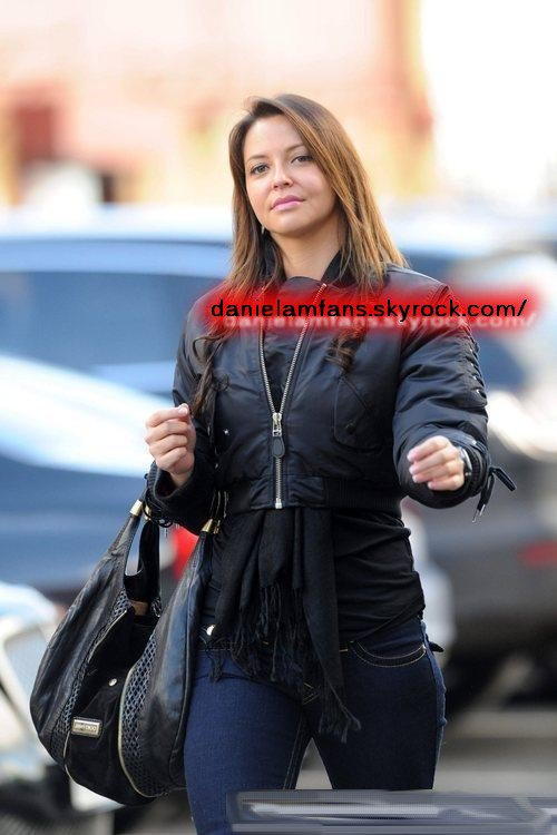 Daniela à Old Trafford le 12.02.11