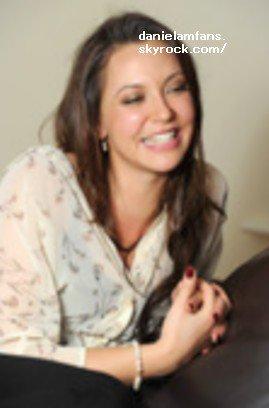 Quel que photos de Daniela lors de sont Interview <3  SUBLIMEEE !