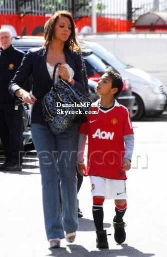 Daniela arrivée a Old Trafford