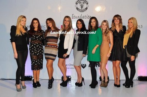 At the Manchester United Ladies Lunch