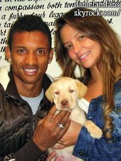 Daniela & Luis with dog bought from Swinton's Dogs 4 Us. story Mike Keegan