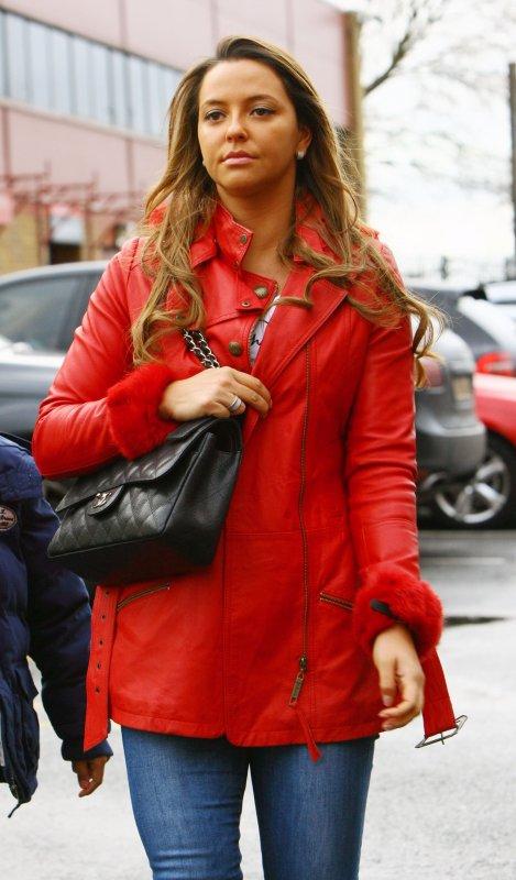 Daniela arrives at Old Trafford, Manchester, 31 December 2011