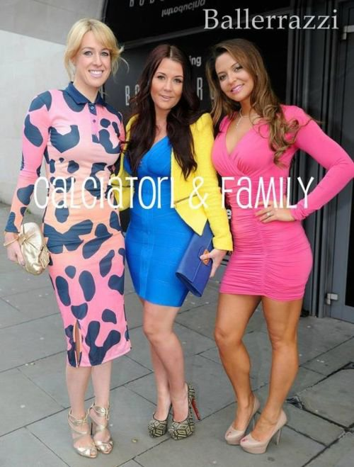 Lisa Carrick,Nicky Pike & Daniela Martins at Philip Armstrong fashion show