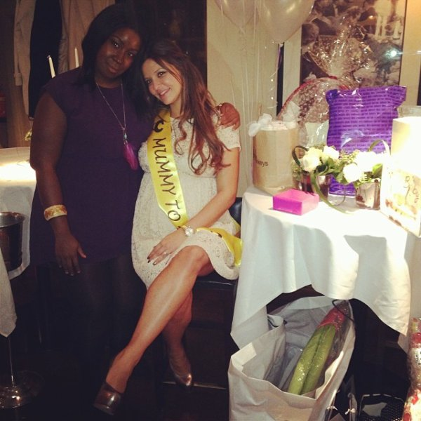 Daniela et sa baby shower