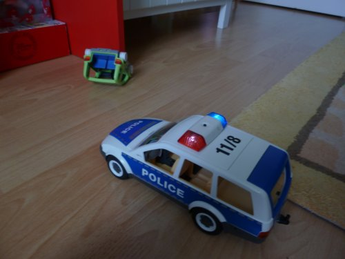 ACCIDENT POLICE SUR PLACE