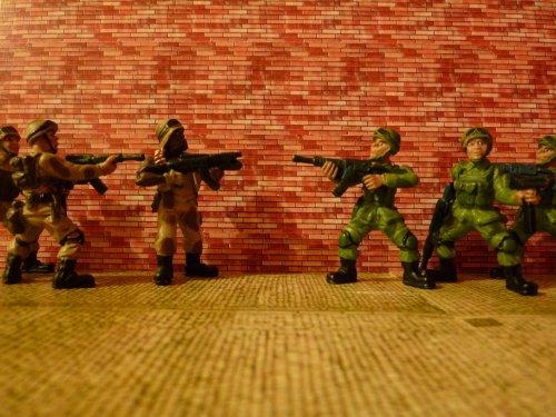 photos militaires miniatures