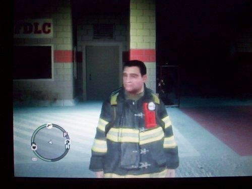 Un pompier de GTA4 F.D.N.Y