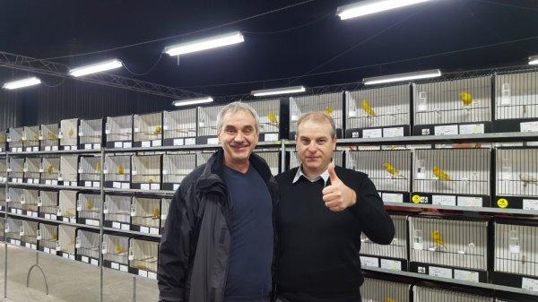 Treffen mit Zuchtfreund Stéphane Dufrasnes / Belgien